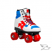 PATINES ROCES DISCO PALACE WHITE-BLUE-RED