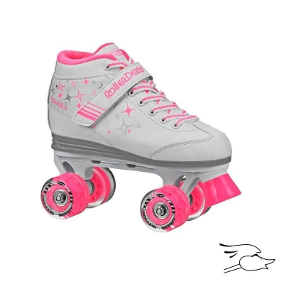 PATINES ROLLER DERBY SPARKLES LIGHT NEW