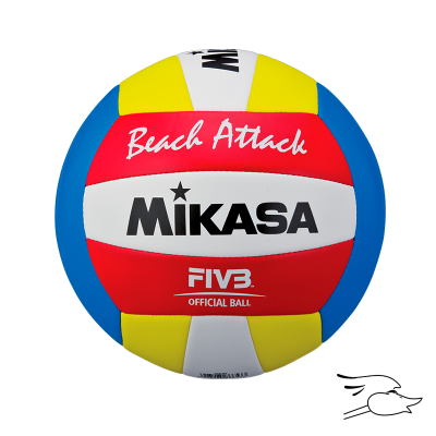 BALON MIKASA VOLLEYBALL PLAYA ATTACK SYNTHETIC LEATHER VXS-BA
