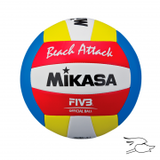 BALON MIKASA VOLLEYBALL PLAYA ATTACK ...