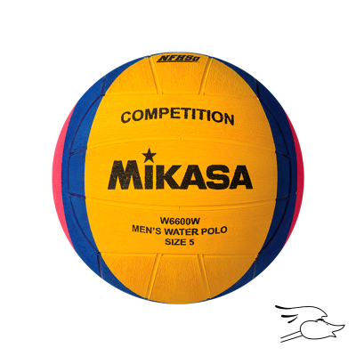 BALON MIKASA WATERPOLO #5 NFHS APPROVED