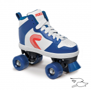 PATINES ROCES HOOP CLASSIC WHITE-BLUE