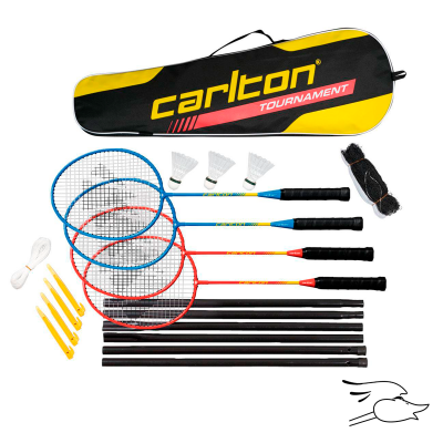 SET CARLTON BADMINTON TOURNAMENT 4 PLAYER