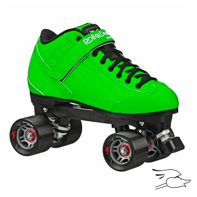 PATINES ROLLER DERBY STOMP FACTOR 5 GREEN