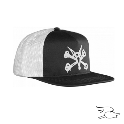 GORRA BONES PUFF BLACK-WHITE