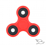 FIDGET SPINNER ADHD RED