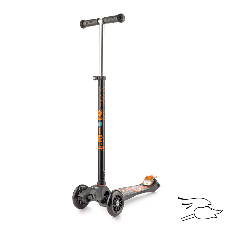 SCOOTER MICRO MAXI DELUXE BLACK