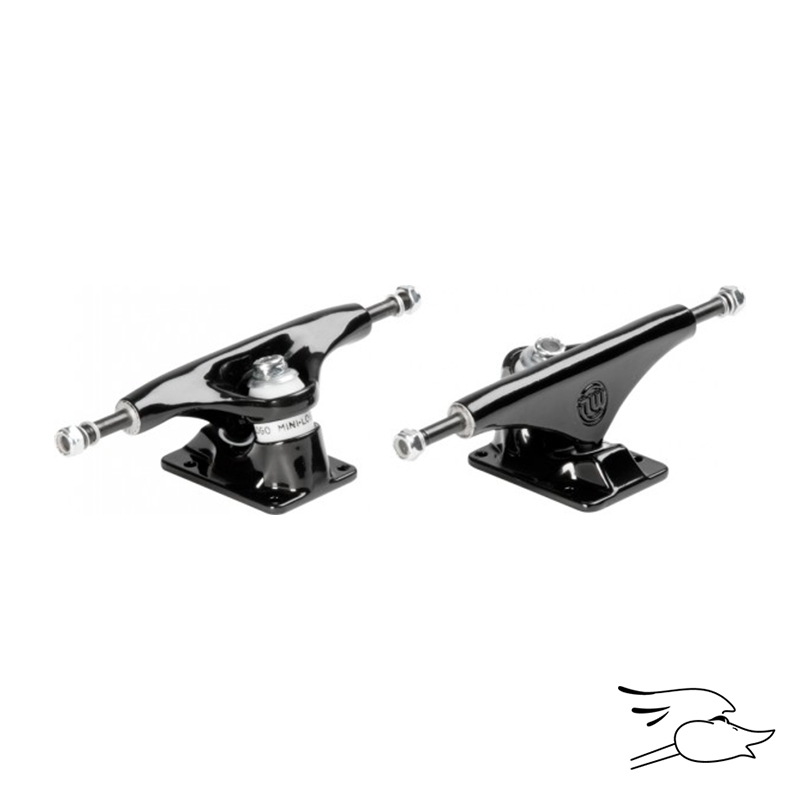 "TRUCKS MINI LOGO BLACK 8.75"" SET"