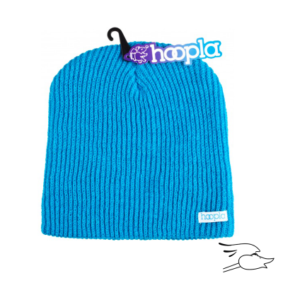 BEANIE HOOPLA CHILL BLUE