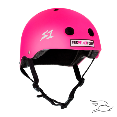 CASCO S-ONE MINI LIFER PINK POSSE