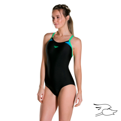 V.B. SPEEDO MONOGRAM LEGSUIT C/00