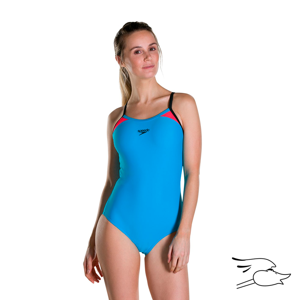 V.B. SPEEDO JUNGLEWAVE ALLOVER DOUBLE CROSSBACK