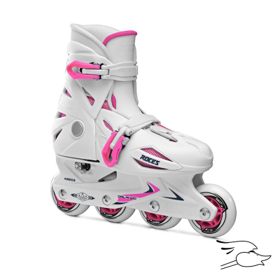 PATINES ROCES ORLANDO III WHITE-PINK