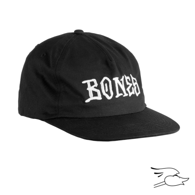 GORRA BONES PAPPY BLACK
