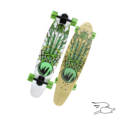 LONGBOARD PARADISE BAMBOO CREST KICKTAIL (MONOPATIN)