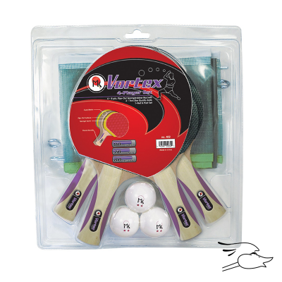 COMBO MK PING PONG VORTEX 4 PLAYER SET